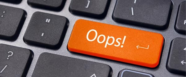 Website mistakes to avoid