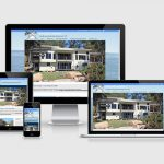 Website design for Bay Island Designs