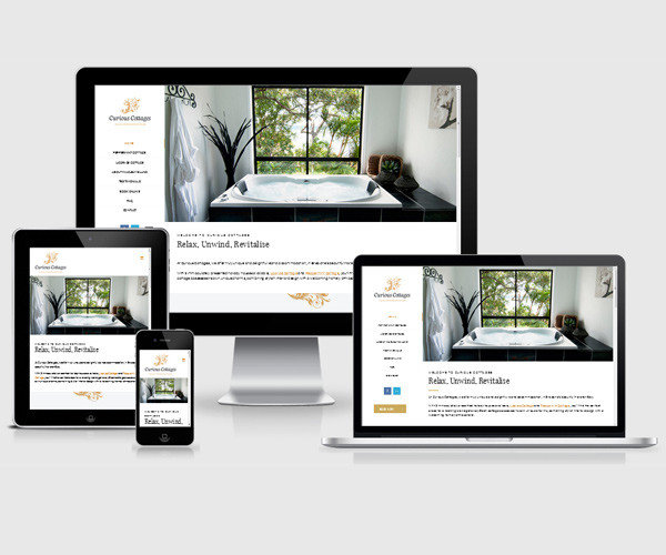 Accommodation website design and online bookings