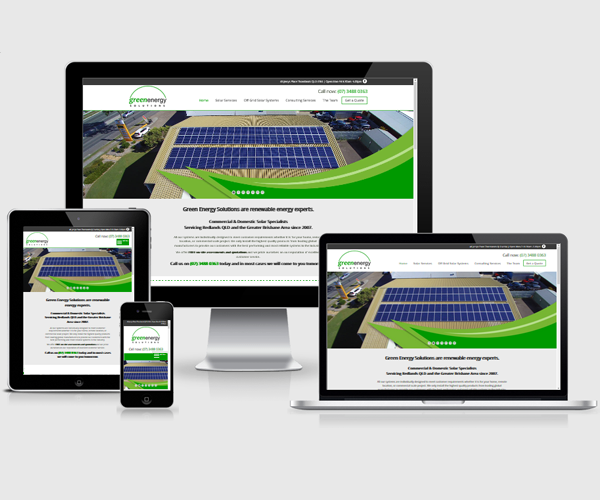 Website design for Green Energy