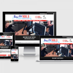 Website Design for Bay FM Community Radio