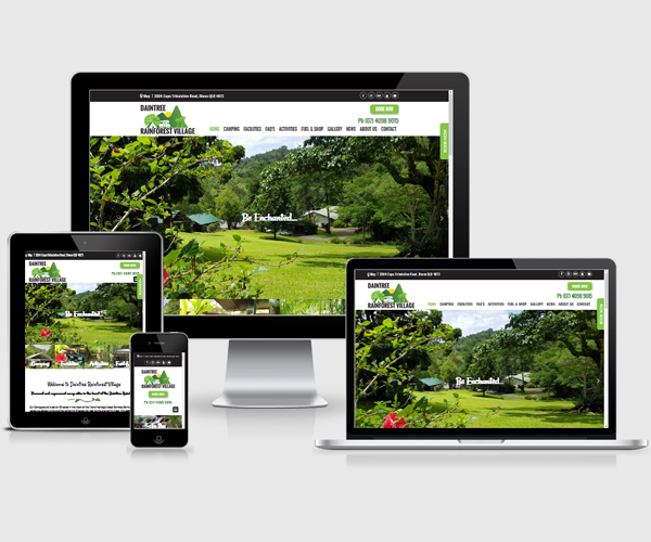 Daintree and Port Douglas WordPress Web Design
