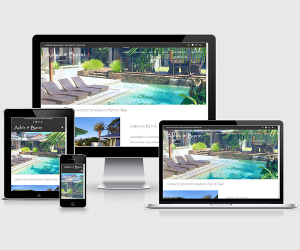 Accommodation-web-design